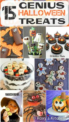 15 Genius Halloween Treats to Make with Your Kids | Roxy's Kitchen