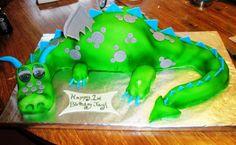 Dragon Birthday Cake