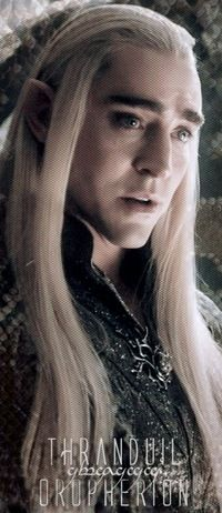 "(Part 38) I think a saw a slight smile on the king's face. But, it didn't last very long. ""I'm sorry, if I have worried you, my king Thranduil."" I said. ""It's alright......"" Thranduil replied. Then I left. Legolas looked at his father. ""Welcome home, son."" Thranduil said. ""Thank you, father."" Then Legolas also left. I went into my room, and changed. When I came out, of the bathroom, Legolas was standing in front of me."