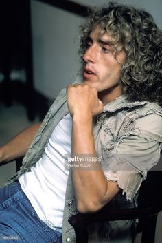 Roger Daltrey of the English rock band The Who in New York City on June 14, 1974. Credit: Waring Abbott