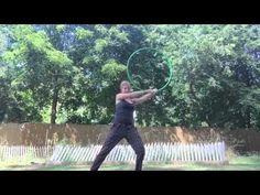 Ghosting clover hoop tutorial - YouTube