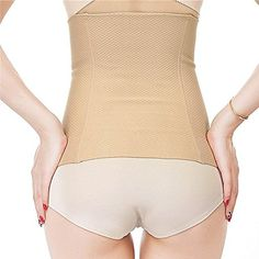 4d9b5342dfb18 Miss Moly Women Breathable Waist Tummy Trainer Chincher Shaper Corset Belt  Steel Beige 3XL