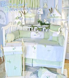 Brandee Danielle One Little Froggie 15 Piece Crib Bedding Set & Reviews | Wayfair