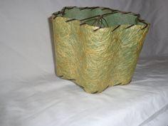 Fiberglass Lampshade Kiwi Green Retro Mid Century by MemmoryAlley, $45.00