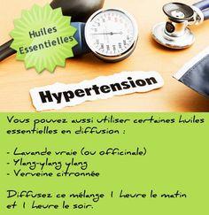 hypertension huiles essentielles diffusion