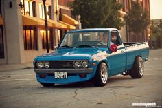 Datsun 620 I want this look for my Mazda B-type, but using the 2008 Challenger lights.