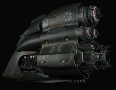 Spaceship jet
