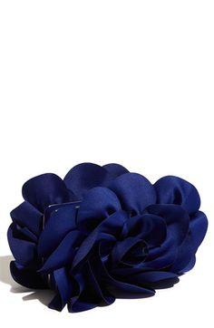 Rose clutch purse