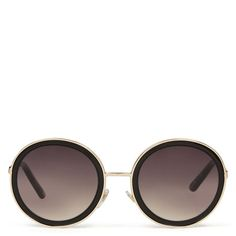 Eyelah Round Sunglasses | Spring Fashion | Spring Trends | Modern Ballet | Fashion Sunglasses | Nine West