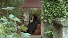 "Mlle Vinteuil and her friend...the scene in Montjouvain. From the film ""A la recherche du temps perdu"" by Nina Companeez. (""A la recherche du temps perdu:"" a film by Nina Companeez. )"