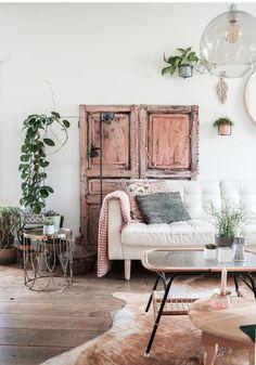 Decor Interior Design, Interior Decorating, Salvaged Doors, Dream Decor, Scandinavian Interior, Living Room Bedroom, Restaurant Design, Interior Inspiration, Sweet Home