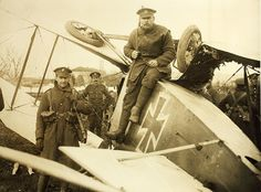 World War One Aircraft crash German in Italy by San Diego Air & Space Museum Archives, via Flickr