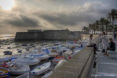 Stephen Candler - Google+ - An evening at La Caleta, Cadiz, Spain