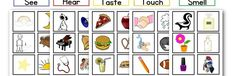 5 Senses Sorting Game | Nuttin' But Preschool