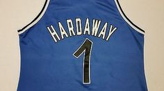 fcb345eeeec3 Penny Hardaway  1 Orlando Magic Champion Jersey NBA Vitnage Rare Mens 48  Penny Hardaway