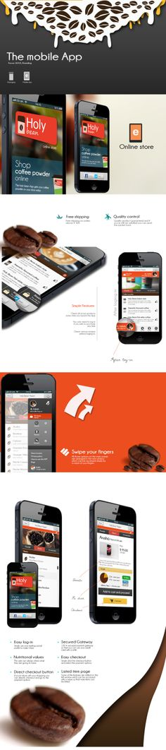Mobile E-commerce ( Coffee Bean App )