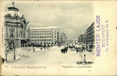 Comedy Theatre of Budapest 1898 Watch the Photo***