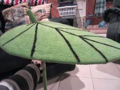 Chelsea's DIY: My Neighbor Totoro Leaf Umbrella