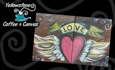 Couples Canvas Painting Plus 2 Coffee Drinks for $40 ($60 value)