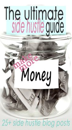 The ultimate guide for making money on the side. | Financegirl