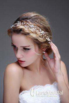 髪飾り ゴールド ラインストーン アクセサリー 花嫁 LH0015017 税込: ¥5,616