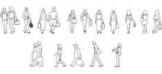 Dwg Adı : Alışveriş yapan insan figürleri  İndirme Linki : http://www.dwgindir.com/puanli/puanli-2-boyutlu-dwgler/puanli-insan-ve-hayvanlar/alisveris-yapan-insan-figurleri.html