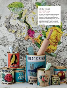 Upcycle paint tins from Ideas Magazine