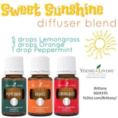 Sweet sunshine diffuser blend
