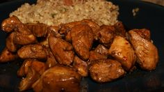 Bourbon Street Chicken in the crockpot - a flavorful chicken dish named after Bourbon Street in New Orleans