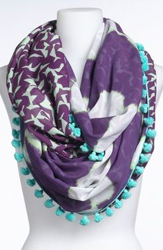Diane von Furstenberg Infinity Scarf available at #Nordstrom