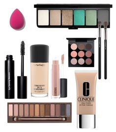 """Makeup"" by suzannahfaith on Polyvore featuring Urban Decay, Clinique, Bobbi Brown Cosmetics and MAC Cosmetics"