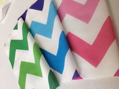 New bright Ombré Chevron prints by Stickelberry Available on Spoonflower.com #fabric #wallpaper #wrapping paper
