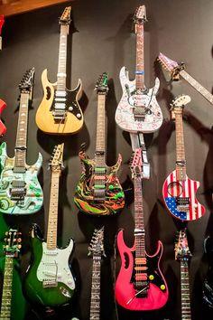Steve Vai's Ibanez Guitars