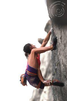 Kalymnos the north face climbing festival 2012 Climber: Melissa Le Nevé