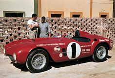 For 1954 Enzo Ferrari needed more power for his front line sports cars, so he built a successor to the 1953 375MM called the 375 Plus. There were a half dozen of these cars constructed, using a 4.9 liter version of the 4.5 liter motor of the 375MM. With one notable exception the 375 Plus was not successful in the hands of Scuderia Ferrari with the cars being sold off during season to private owners in the United States and South America. The exception in terms of racing success was the car…