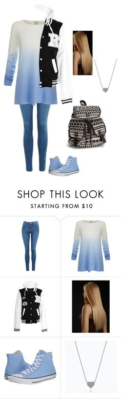 """""""Just 🐝 yourself"""" by quata ❤ liked on Polyvore featuring Topshop, Joie, Converse and NLY Accessories"""