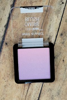 New at the Drugstore: Wet N Wild Coloricon Ombre Blush- In a Purple Haze Swatch darker skintones this will be a highlight shade. Purple Eye Makeup, Green Eyeshadow, Makeup For Green Eyes, Blush Makeup, Makeup Eyes, Highlighter Makeup, Drugstore Makeup, Makeup Cosmetics, Purple Blush