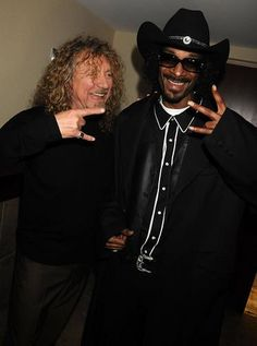 Snoop Dogg would fill the air with smoke while Robert Plant filled us with lust!