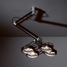 Plafondlamp voor boven eettafel Nomad 4x arm