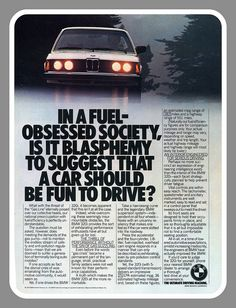1980 BMW Ad by montanaman1, via Flickr