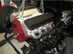 1967 Chevelle Engine - This classic car engine was repaired by Wilson Auto Repair in Texas.