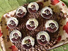 Cupcakes de Oogie Boogie (Pesadilla antes de Navidad)