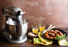 Gluten-Free can still be tasty! Create your own Gluten-Free Turkey Meatballs using the KitchenAid® Artisan® Mini Stand Mixer. Find the recipe by @cottercrunch on our blog: http://kitchen.ai/FvzjxH