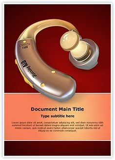 Download our state of the art life insurance ppt template make a hearing aid word document template is one of the best word document templates by editabletemplates editabletemplates powerpoint templates medicine toneelgroepblik Images