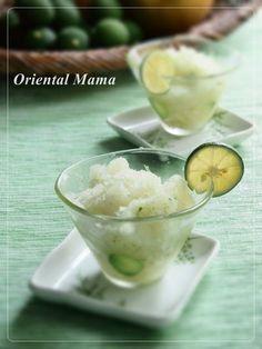 爽やか!すだちと梨の冷たいデザート by Oriental Mamaさん | レシピ ...