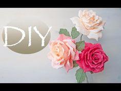 (117) Вывернутая роза из бумаги - DIY Tsvoric - YouTube