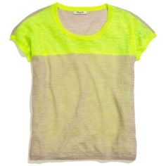 MADEWELL Neon Colorblock Pullover ($55)