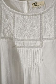 Smocking and eyelet...a couple of my favorite things!