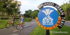 Explore Orlando like a local with a bike ride to some of the beautiful parks and cultural hubs of the destination.