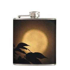 Autumn Moon Hip Flask